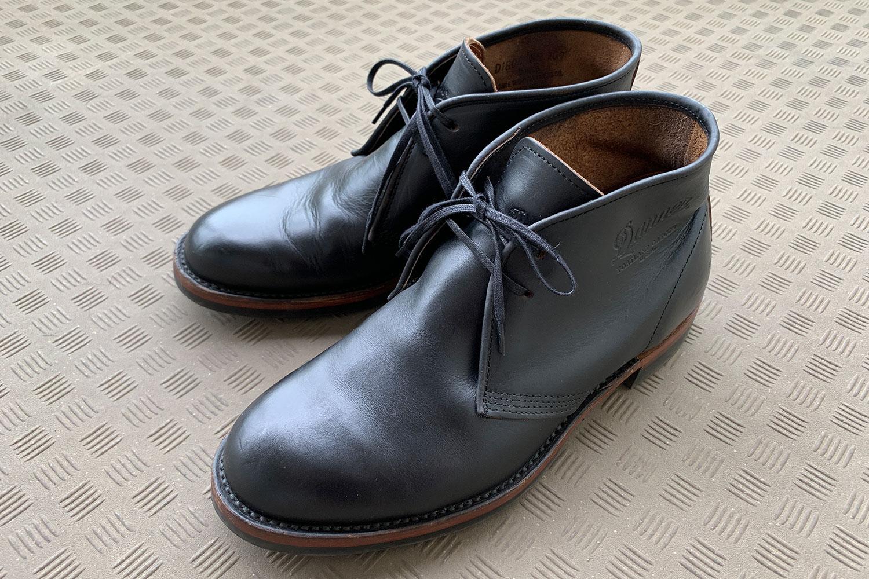 革 ブーツ お手入れ