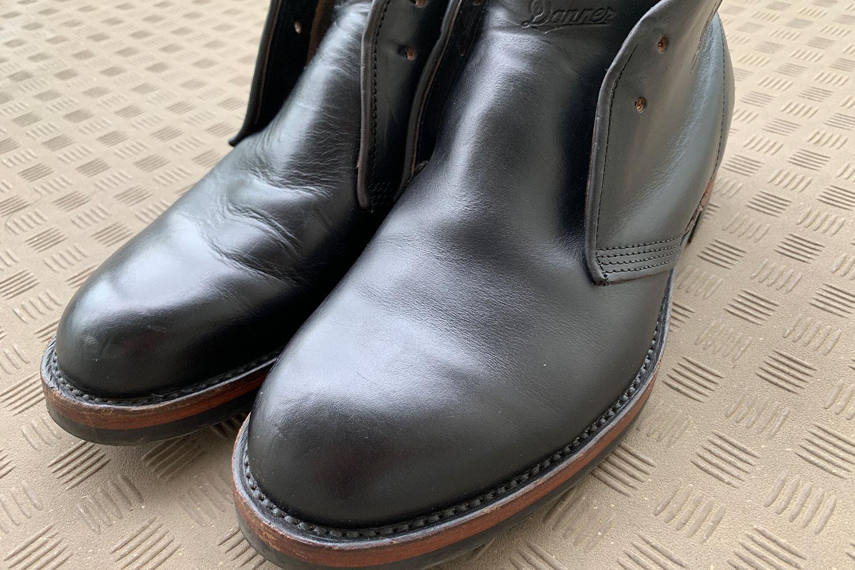 革ブーツ クリーム 磨き